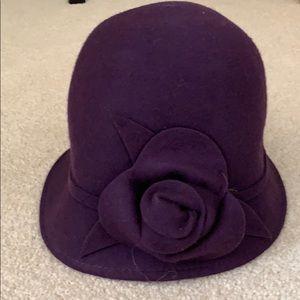 0fb55f729 Purple felt hat